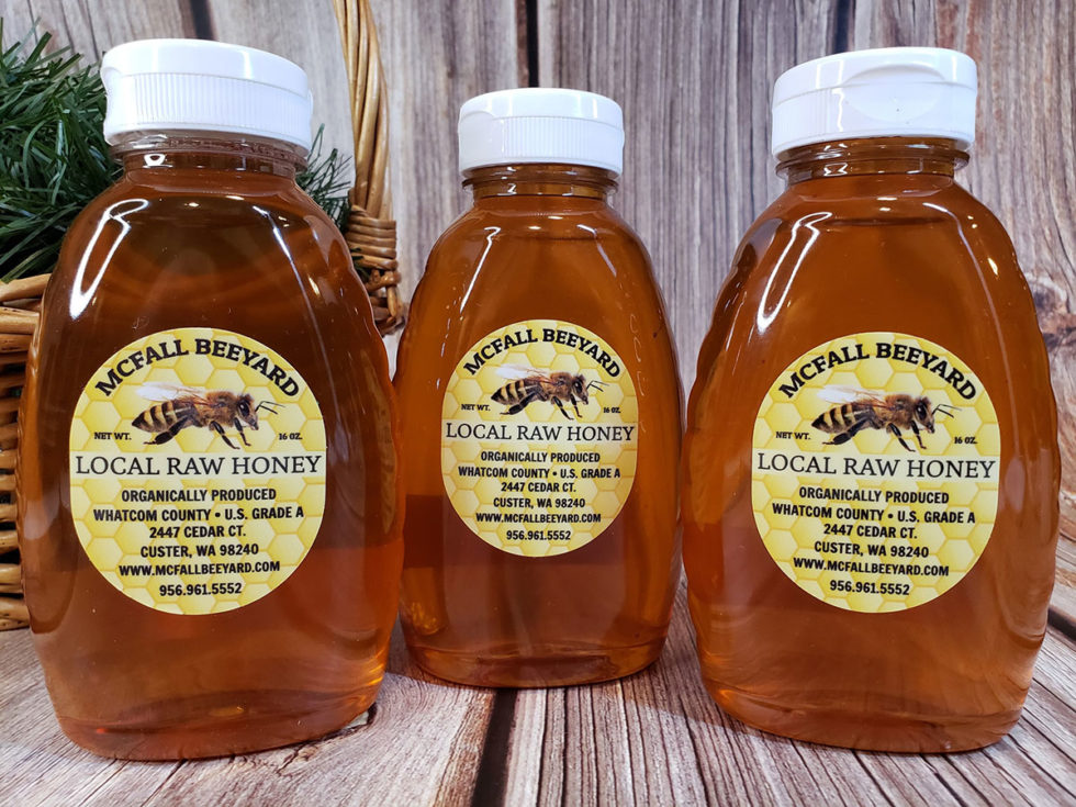 McFall Beeyard Local Raw Honey (3 pack)