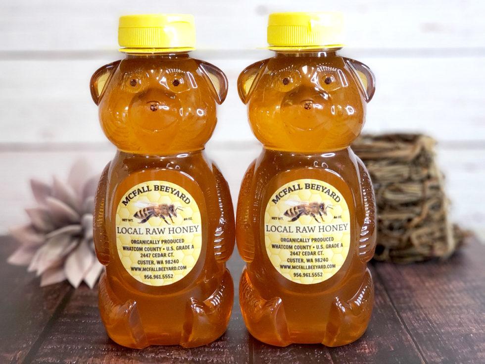 Giant Honey Bears (2 pack)