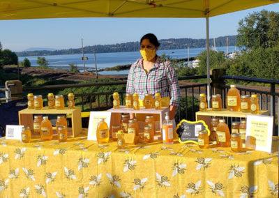 Local raw honey - McFall Beeyard
