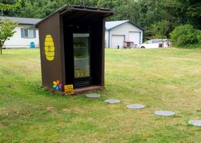 Local raw honey - McFall Beeyard - Whatcom County